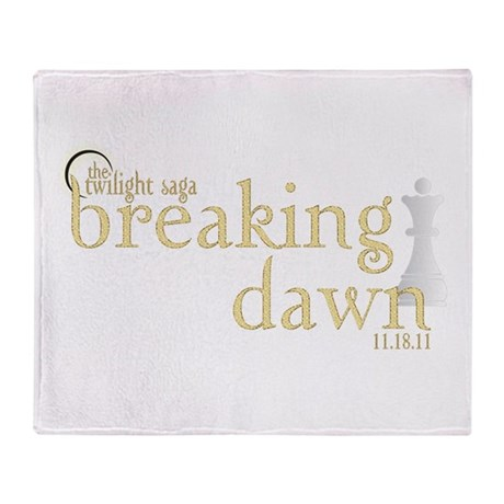 Breaking Dawn 2 Throw Blanket