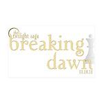 Breaking Dawn 2 35x21 Wall Decal