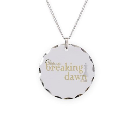 Breaking Dawn 2 Necklace Circle Charm