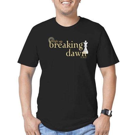 Breaking Dawn 2 Men's Fitted T-Shirt (dark)