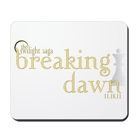 Breaking Dawn 2 Mousepad