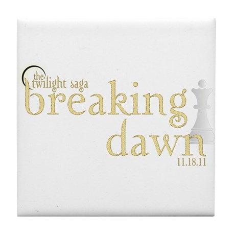 Breaking Dawn 2 Tile Coaster