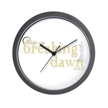 Breaking Dawn 2 Wall Clock