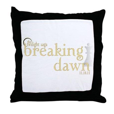 Breaking Dawn 2 Throw Pillow
