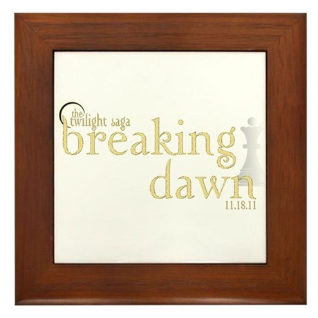 Breaking Dawn 2 Framed Tile