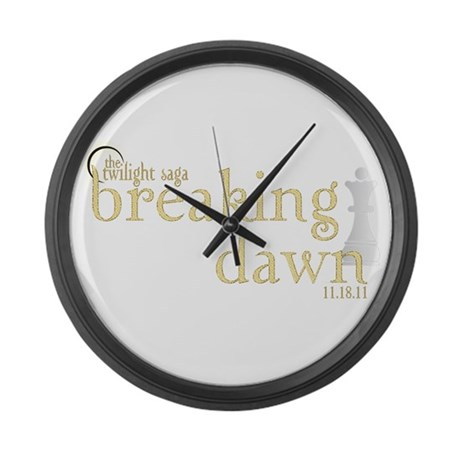 Breaking Dawn 2 Large Wall Clock