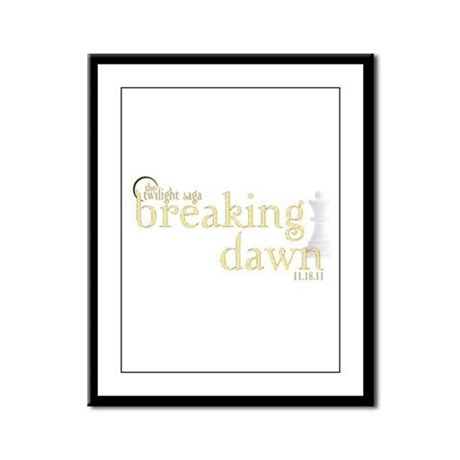 Breaking Dawn 2 Framed Panel Print