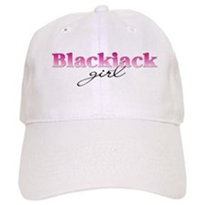 Blackjack girl Baseball Cap