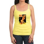 Beauty Parade Pin Up with Rose Jr. Spaghetti Tank