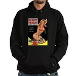 Beauty Parade Pin Up with Rose Hoodie (dark)