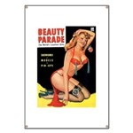 Beauty Parade Pin Up with Rose Banner
