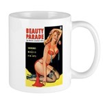 Beauty Parade Pin Up with Rose Mug