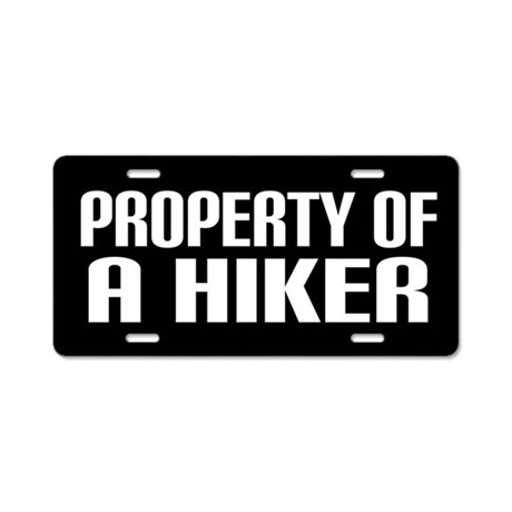 Hiking Gift License Plate