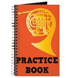 French Horn Practice Book Lesson Journal