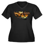Breaking Dawn Women's Plus Size V-Neck Dark T-Shir
