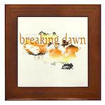 Breaking Dawn Framed Tile