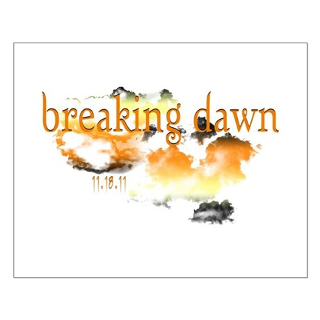 Breaking Dawn Small Poster