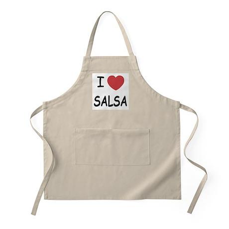 I heart salsa Apron