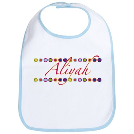 Aliyah with Flowers Bib