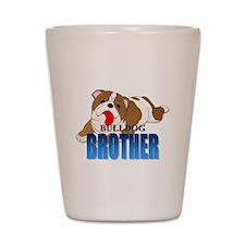 Bulldog Brother Shot Glass