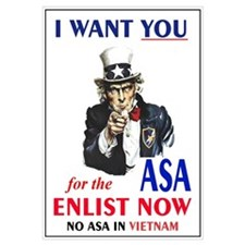 IN WANT YOU for the ASA No ASA In Vietnam!