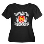 Tavastia Finland Women's Plus Size Scoop Neck Dark