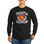 Tavastia Finland Long Sleeve Dark T-Shirt
