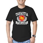 Tavastia Finland Men's Fitted T-Shirt (dark)
