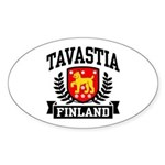 Tavastia Finland Sticker (Oval)