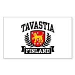 Tavastia Finland Sticker (Rectangle)