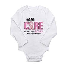 Before I Grow Boobs Breast Cancer Long Sleeve Infa