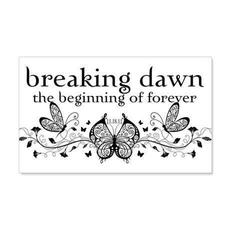 Breaking Dawn Beginning 22x14 Wall Peel