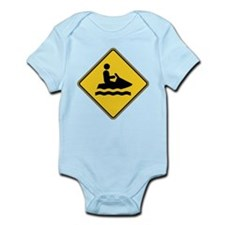 Warning : Jetski Infant Bodysuit