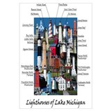Lighthouses of Lake Michigan