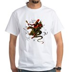 Dragon Rider White T-Shirt