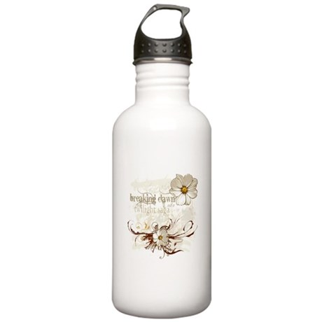Breaking Dawn Floral Stainless Water Bottle 1.0L