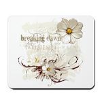 Breaking Dawn Floral Mousepad
