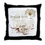Breaking Dawn Floral Throw Pillow