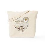 Breaking Dawn Floral Tote Bag