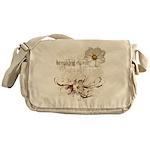 Breaking Dawn Floral Messenger Bag