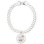 Breaking Dawn Floral Charm Bracelet, One Charm