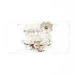 Breaking Dawn Floral Aluminum License Plate
