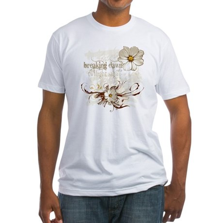 Breaking Dawn Floral Fitted T-Shirt