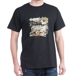 Breaking Dawn Floral Dark T-Shirt