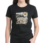Breaking Dawn Floral Women's Dark T-Shirt