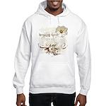 Breaking Dawn Floral Hooded Sweatshirt
