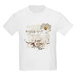 Breaking Dawn Floral Kids Light T-Shirt