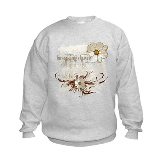 Breaking Dawn Floral Kids Sweatshirt