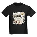 Breaking Dawn Floral Kids Dark T-Shirt