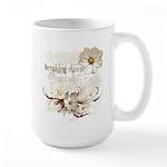Breaking Dawn Floral Large Mug